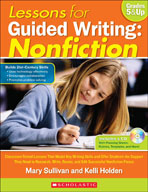 Lessons for Guided Writing: Nonfiction (Enhanced eBook)