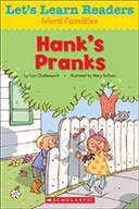 Let's Learn Readers™ Word Families: Hank's Pranks (Enhance
