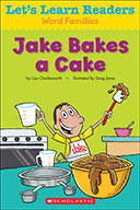Let's Learn Readers™ Word Families: Jake Bakes a Cake (Enh
