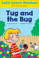 Let's Learn Readers™ Word Families: Tug and the Bug (eBook)