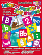 Letters, Numbers, and Shapes (Enhanced eBook)