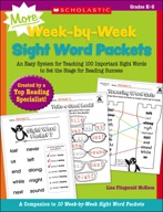 MORE Week-by-Week Sight Word Packets (Enhanced Ebook)