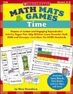 Math Mats & Games: Time (Enhanced eBook)
