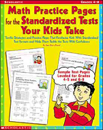 Math Practice Pages for the Standardized Tests Your Kids T