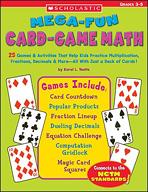 Mega-Fun Card-Game Math: Grades 3-5