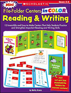 Mini File-Folder Centers in Color: Reading and Writing Gra