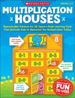 Multiplication Houses (Enhanced eBook)