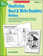 Nonfiction Read & Write Booklets: Holidays (Enhanced eBook)