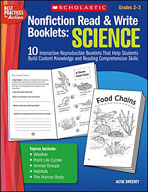 Nonfiction Read and Write Booklets: Science