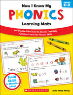 Now I Know My Phonics Learning Mats