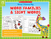 Now I Know My Word Families and Sight Words (eBook)