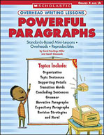 Overhead Writing Lessons: Powerful Paragraphs