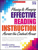Planning and Managing Effective Reading Instruction Across