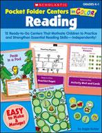 Pocket-Folder Centers in Color: Reading Grades K-1