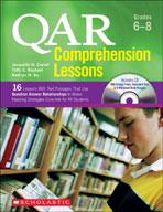 QAR Comprehension Lessons: Grades 6-8 (Enhanced eBook)
