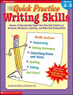Quick Practice: Writing Skills: Grades 2-3 (Enhanced eBook)