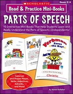 Read and Practice Mini-Books: Parts of Speech