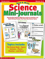 Read and Write Science Mini-Journals