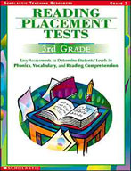 Reading Placement Tests: Third Grade (Enhanced eBook)