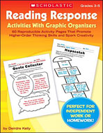 Reading Response Activities With Graphic Organizers (Enhan