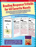 Reading Response Trifolds for 40 Favorite Novels (Enhanced eBook)