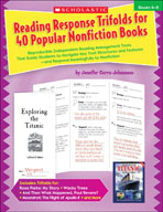 Reading Response Trifolds for 40 Popular Nonfiction Books: