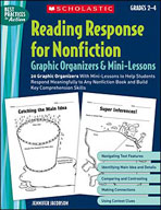 Reading Response for Nonfiction Graphic Organizers and Min