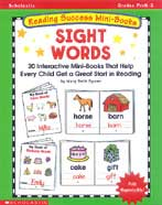 Reading Success Mini-Books: Sight Words