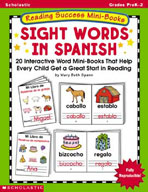 Reading Success Mini-Books: Sight Words in Spanish (Enhanc