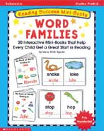 Reading Success Mini-Books: Word Families (Enhanced eBook)
