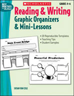 Reading and Writing Graphic Organizers and Mini-Lessons (E