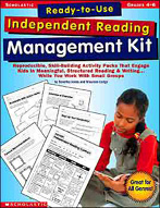 Ready-to-Use Independent Reading Management Kit: Grades 4-