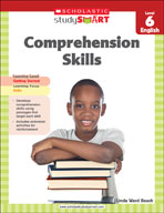 Scholastic Study Smart Comprehension Skills Level 6
