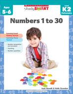 Scholastic Study Smart: Numbers 1 to 30: Kindergarten - Grade 2