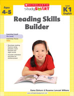 Scholastic Study Smart: Reading Skills Builder: Kindergart
