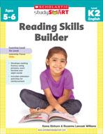 Scholastic Study Smart: Reading Skills Builder: Kindergart