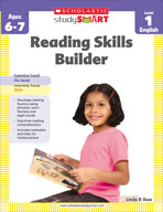 Scholastic Study Smart: Reading Skills Builder: Level 1