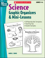 Science Graphic Organizers and Mini-Lessons (Enhanced eBook)