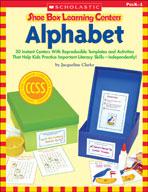 Shoe Box Learning Centers: Alphabet (Enhanced eBook)