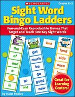 Sight Word Bingo Ladders (Enhanced eBook)