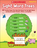 Sight Word Trees (Enhanced eBook)