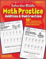 Solve-the-Riddle Math Practice: Addition and Subtraction (