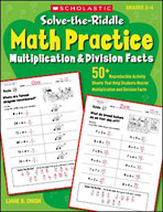 Solve-the-Riddle Math Practice: Multiplication & Division