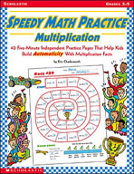 Speedy Math Practice: Multiplication
