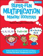 Super-Fun Multiplication Memory Boosters (Enhanced eBook)