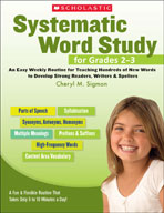 Systematic Word Study for Grades 2-3 (Enhanced eBook)