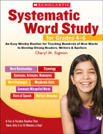 Systematic Word Study for Grades 4-6 (Enhanced eBook)