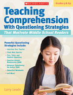 Teaching Comprehension With Questioning Strategies That Mo