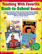 Teaching With Favorite Back-to-School Books (Enhanced eBook)