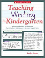 Teaching Writing in Kindergarten (Enhanced eBook)